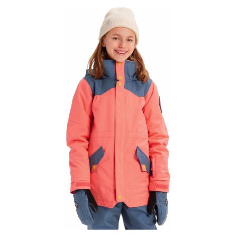 jacket Burton Shortleaf - Georgia Peach - girl´s