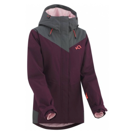KARI TRAA FRONT red wine - Women's skiing jacket