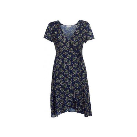 Casual Attitude KARAN women's Long Dress in Blue