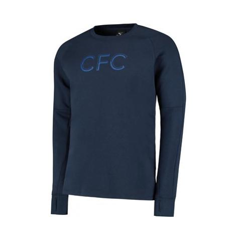 Chelsea Crew Fleece Sweater - Navy Nike