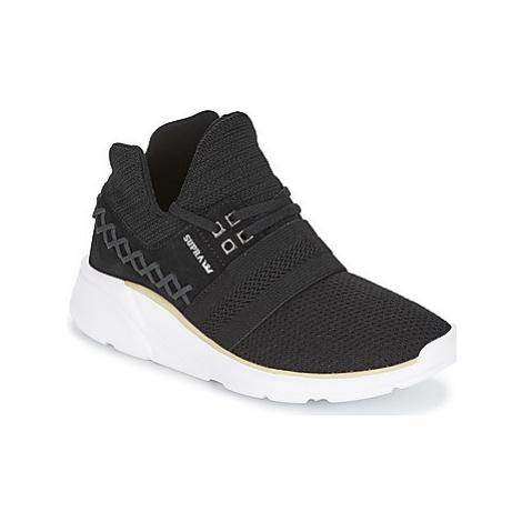 Supra CATORI women's Shoes (High-top Trainers) in Black