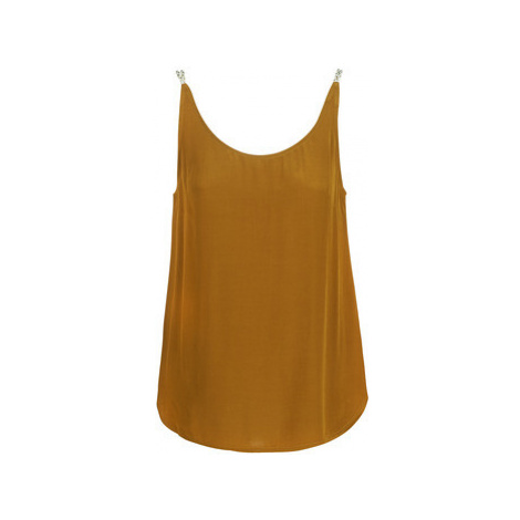 See U Soon GARAGALI women's Vest top in Brown
