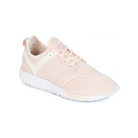New Balance WRL247 women's Shoes (Trainers) in Pink