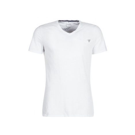 Guess ARCHIE men's T shirt in White