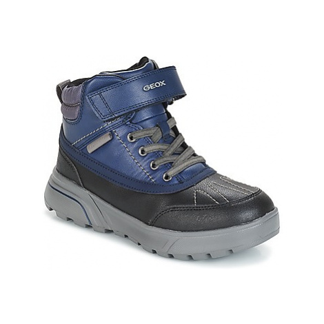 Geox J SVEGGEN BOY B ABX boys's Children's Mid Boots in Blue