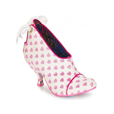 Irregular Choice Love is all around women's Low Boots in White