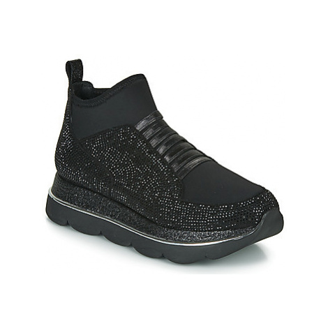Café Noir BLANDI women's Shoes (High-top Trainers) in Black