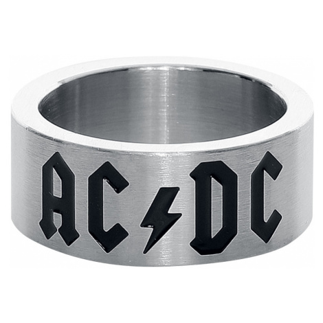 AC/DC - AC/DC Logo - Ring - silver-coloured
