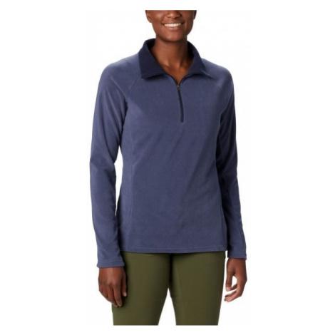 Columbia GLACIAL IV HALF ZIP dark blue - Women's outdoor sweatshirt