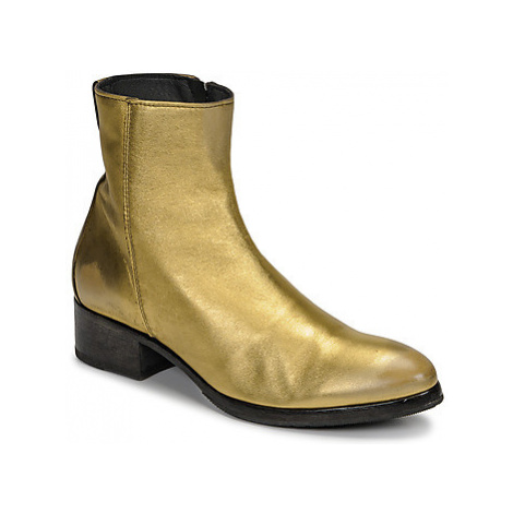 Moma NJ ORO women's Low Ankle Boots in Gold