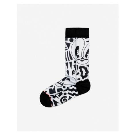 Stance Looky Lou Socks Black White