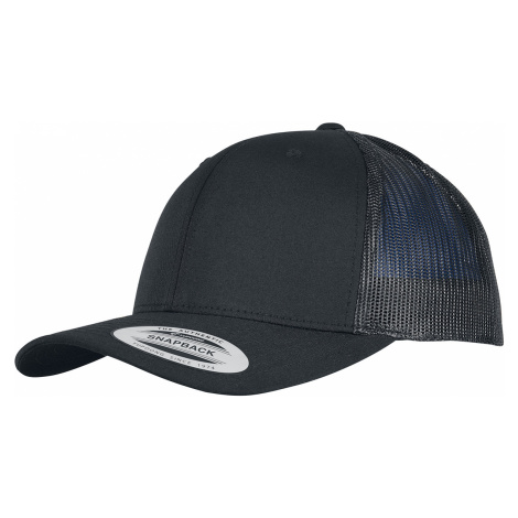 Urban Classics - Trucker Recycled Poly Twill With Recycled Poly Mesh - Trucker cap - black