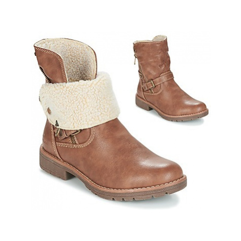 Tom Tailor SEZOZO women's Mid Boots in Brown