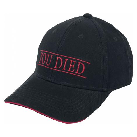 Demon's Souls You Died Cap black