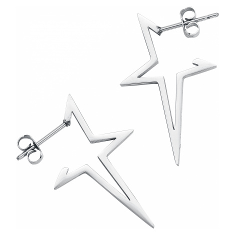 Wildcat - Star Earstuds Pair - Earpin set - silver-coloured