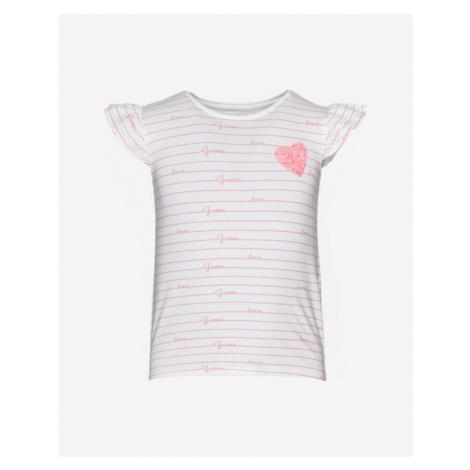 Guess Kids T-shirt Pink White