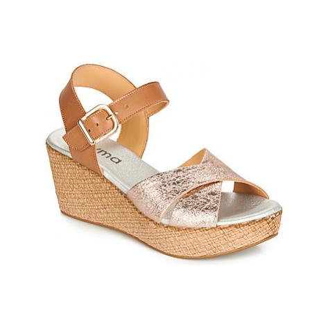 Myma SWEETY women's Sandals in Brown