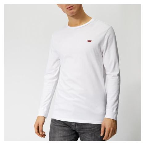 Levi's Men's Long Sleeve Original HM T-Shirt - White Levi´s