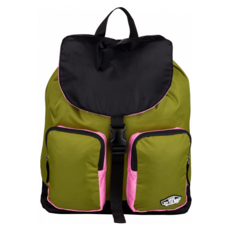 Vans WM GEOMANCER II BACKPACK dark green - Women's backpack