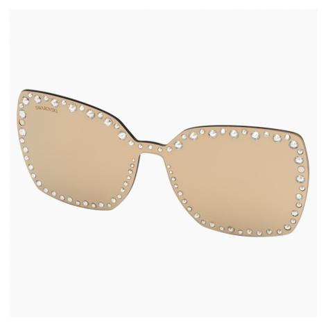 Swarovski Click-on Mask for Sunglasses, SK5330-CL 32G, Brown