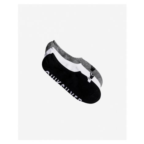 Quiksilver Set of 3 pairs of socks Black White Grey