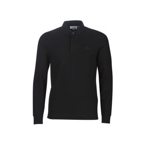 Lacoste PH2481 REGULAR men's Polo shirt in Black