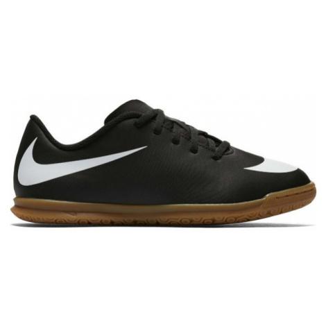 Black boys' indoor shoes