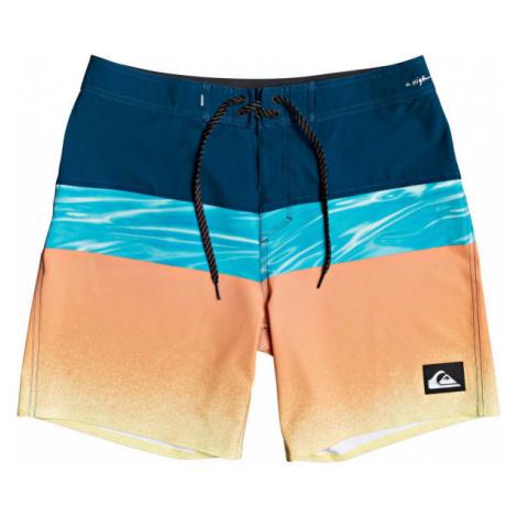 Quiksilver HIGHLINE HOLD DOWN 18 orange - Men's swim shorts