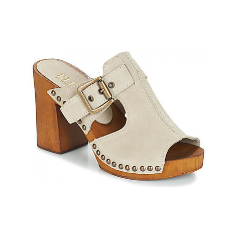 Replay SUGAR women's Mules / Casual Shoes in Beige