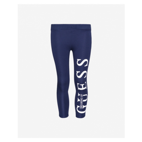 Blue girls' sports trousers