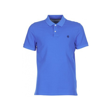 Timberland MILLERS RIVER PIQUE POLO men's Polo shirt in Blue