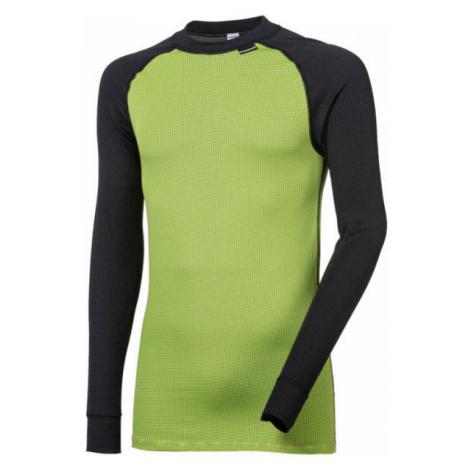 Progress MICROSENSE LS-M green - Men's functional T-shirt