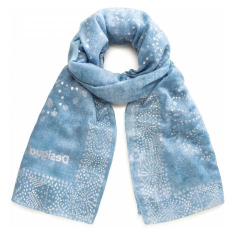 shawl Desigual 20SAWA44/Galaxy - 2024/Gris Blue - women´s