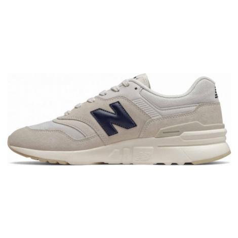 New Balance CM997HBP beige - Men's leisure shoes