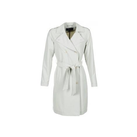 Armani jeans HAVANOMA women's Trench Coat in White