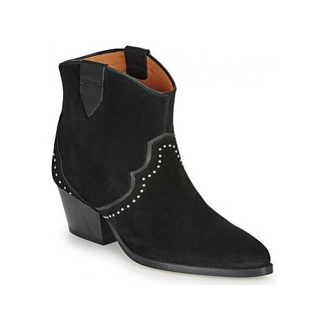Betty London LOUELLA women's Low Ankle Boots in Black