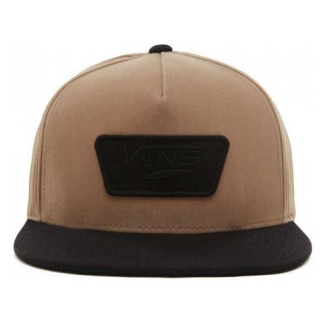 Vans MN FULL PATCH SNAPBACK brown - Men's hat