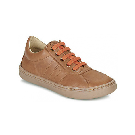Citrouille et Compagnie LUKITO boys's Children's Casual Shoes in Brown