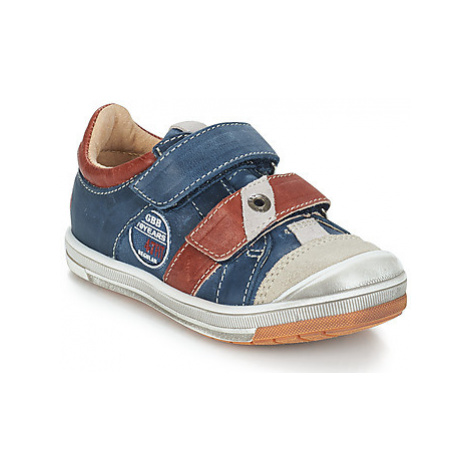 GBB SERGE boys's Children's Shoes (Trainers) in Blue