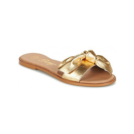 Betty London INNIMITI women's Mules / Casual Shoes in Gold