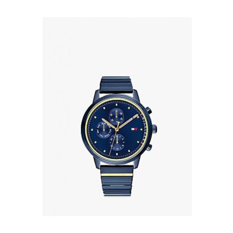 Tommy Hilfiger 1781893 Women's Chronograph Bracelet Strap Watch, Blue
