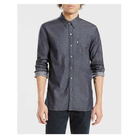 Levi's® Sunset 1 Pocket Shirt Blue Grey Levi´s