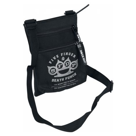 Five Finger Death Punch - Five Finger Death Punch Logo - Shoulder bag - black