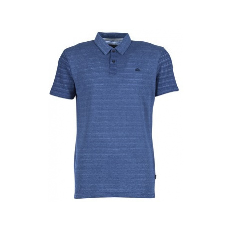 Quiksilver CIMBELLOPORT M KTTP BSW0 men's Polo shirt in Blue