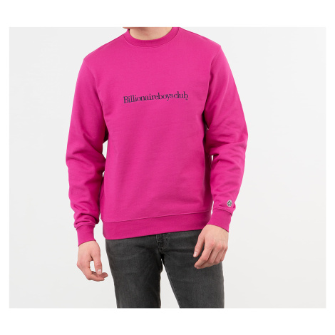 Billionaire Boys Club Embroidered Logo Crewneck Pink
