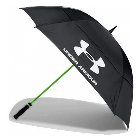 umbrella Under Armour Golf Umbrella Double Conopy - Black/High Vis Yellow