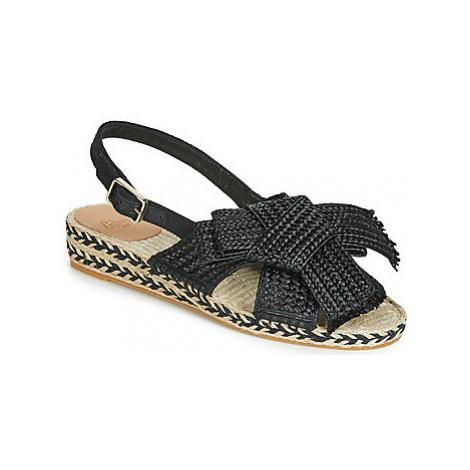 Castaner SHANIA women's Sandals in Black Castañer