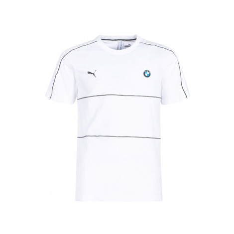 Puma BMW MMS T7 TEE men's T shirt in White