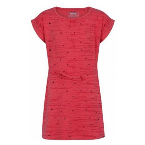 Loap ALINA pink - Girls' dress