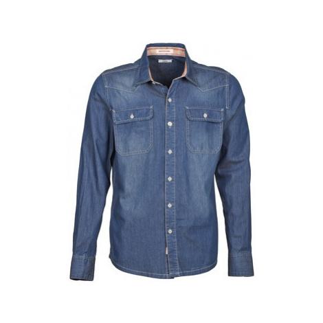 Redskins BELFAST men's Long sleeved Shirt in Blue